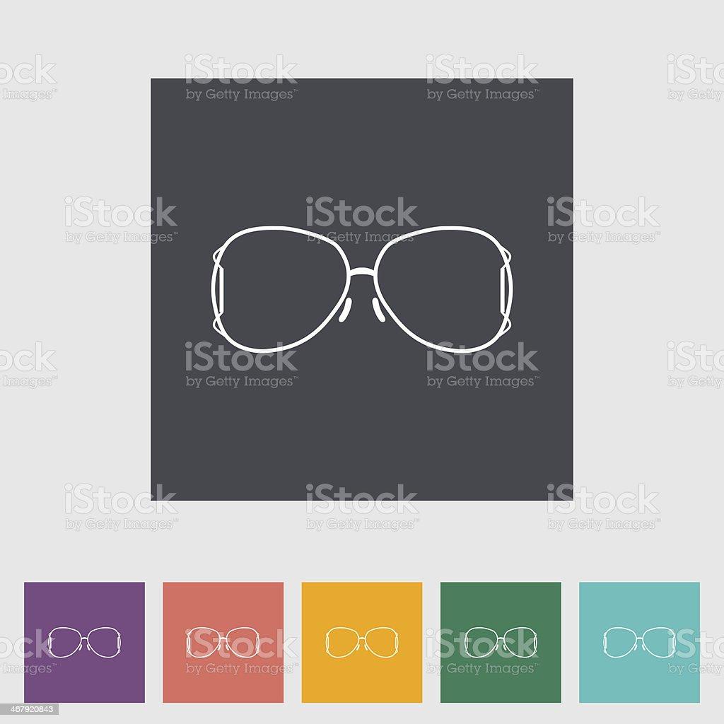 Sunglasses royalty-free stock vector art