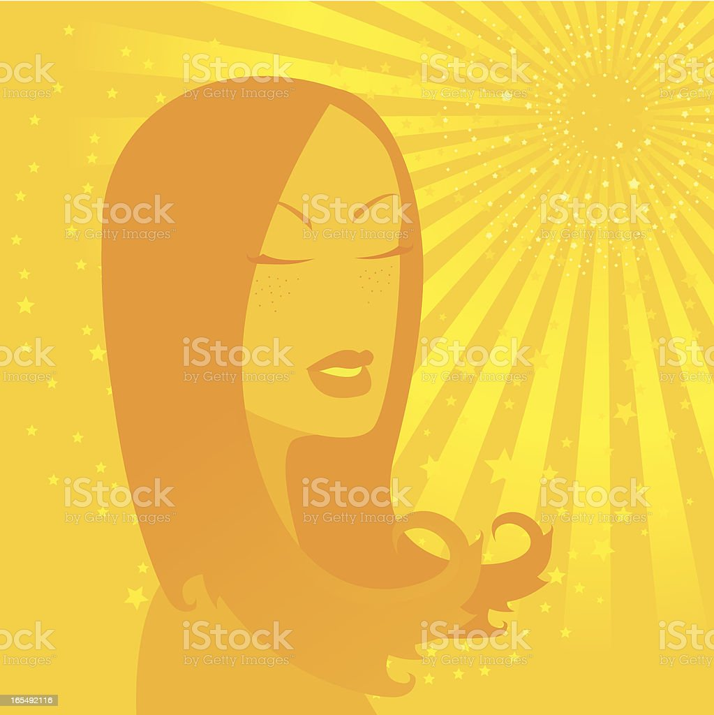 Sunny day royalty-free stock vector art