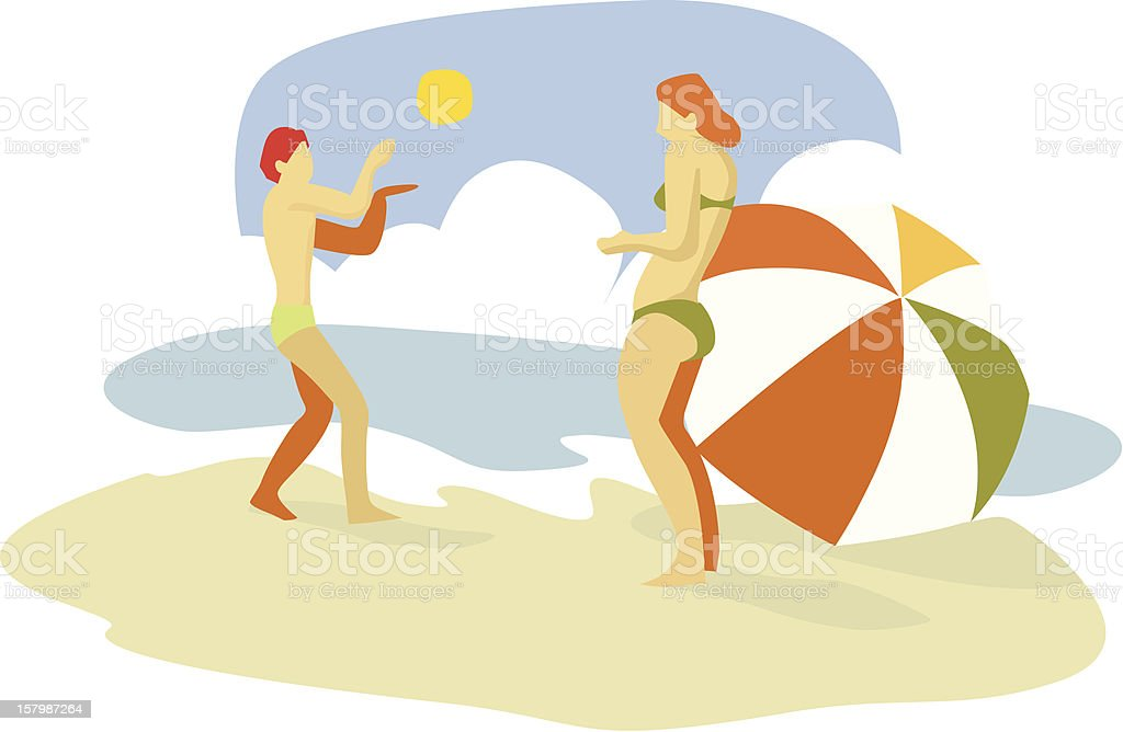 Sunny days royalty-free stock vector art