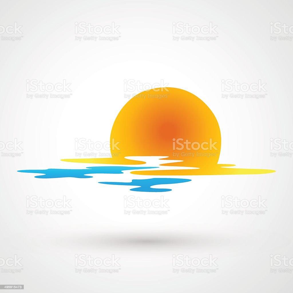 sunset clip art  vector images   illustrations istock ocean waves clip art chalkboard background ocean wave clipart png