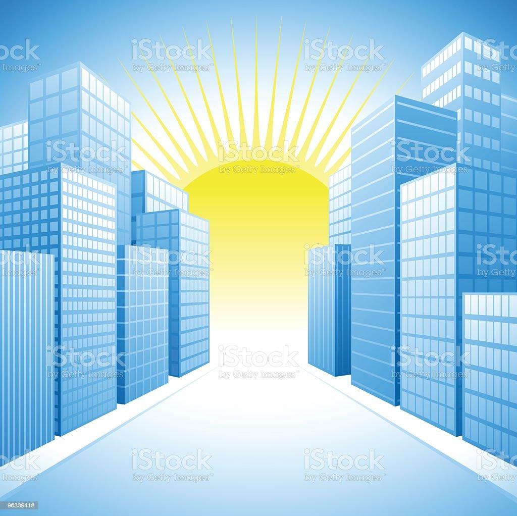 Sunshine City royalty-free stock vector art