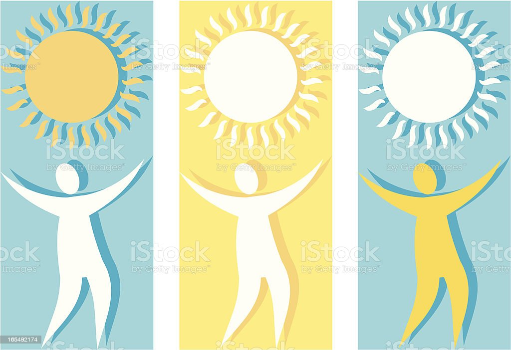 Sunshine Joy royalty-free stock vector art