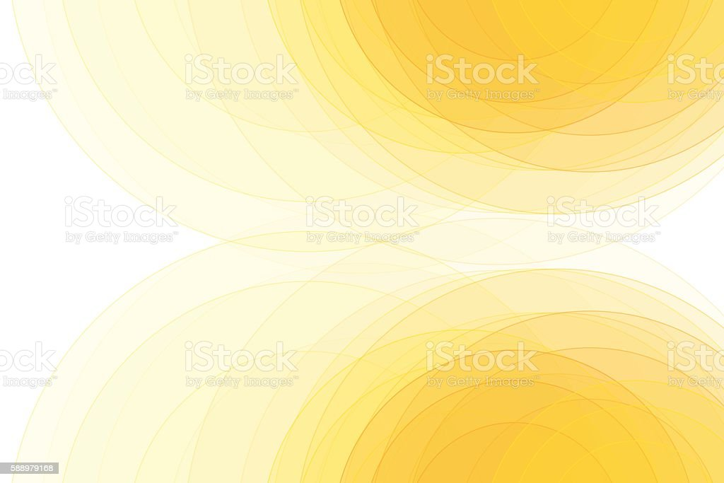Sunshine Semi Circle Background Horizontal vector art illustration