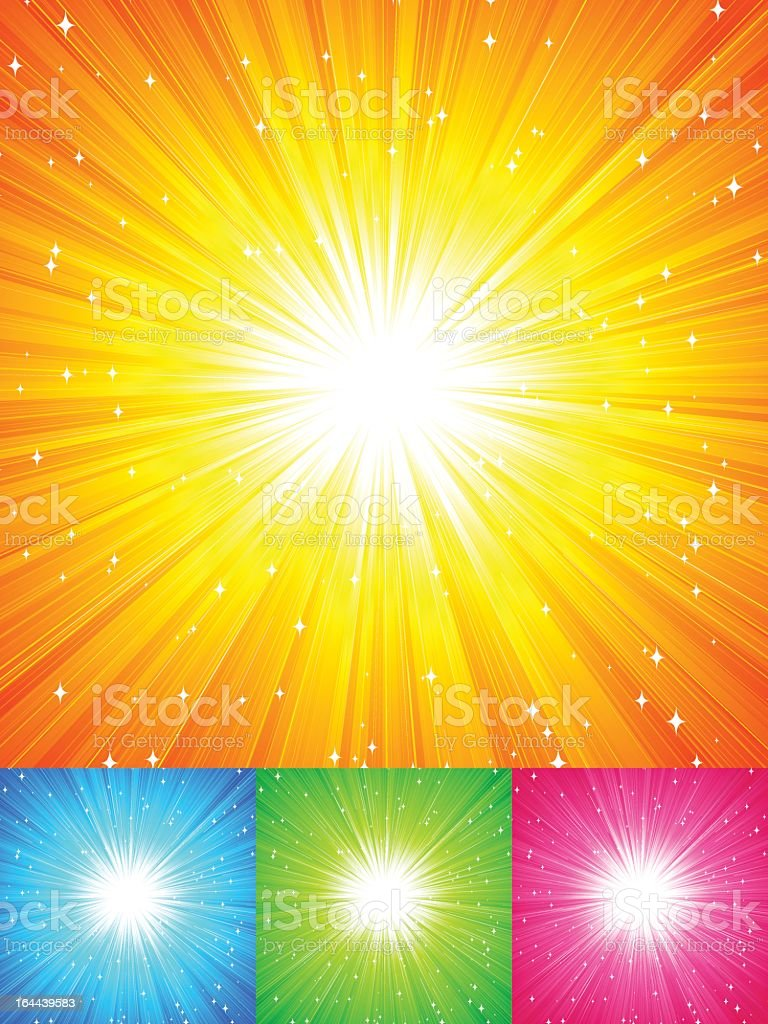 Sunshine royalty-free stock vector art