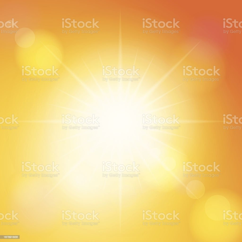 sunspot royalty-free stock vector art