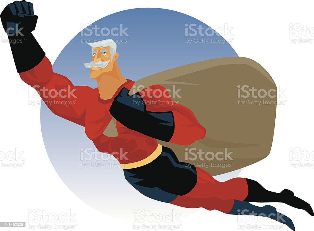super old man royalty-free stock vector art