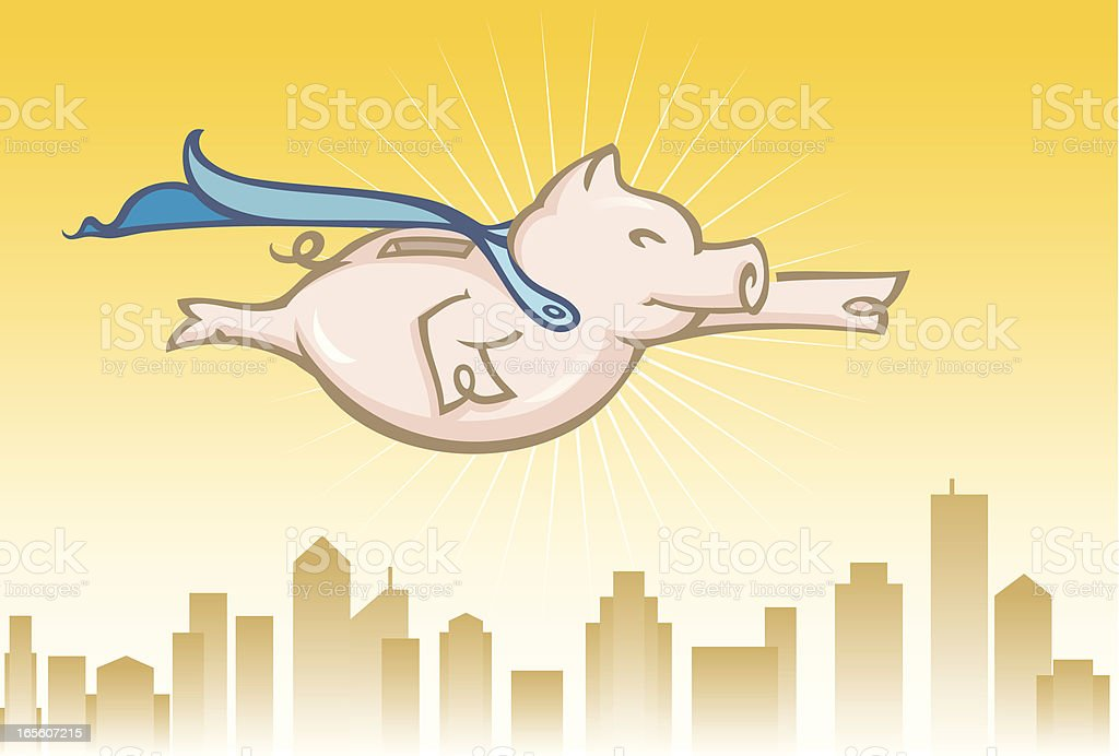 Super Savings royalty-free stock vector art