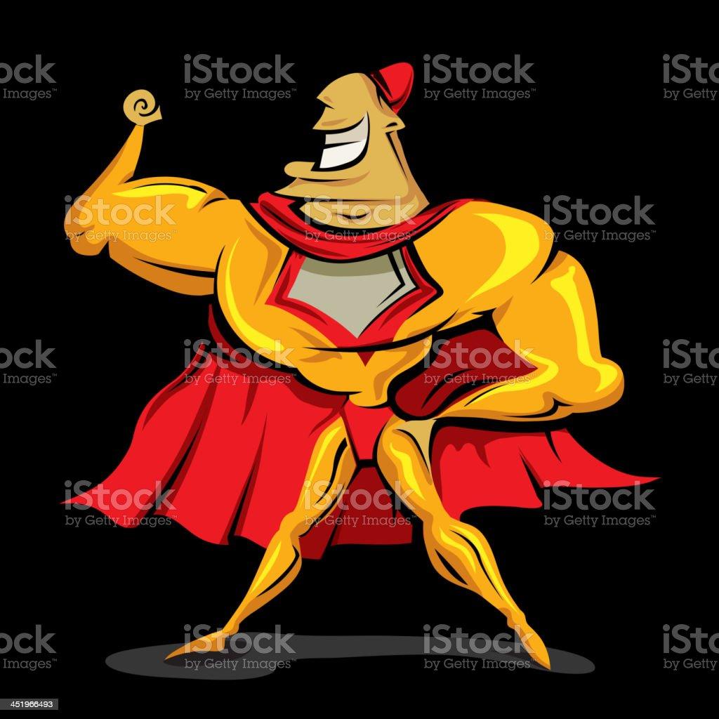 superhero royalty-free stock vector art