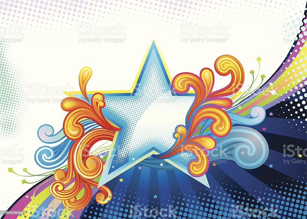 Superior Star royalty-free stock vector art