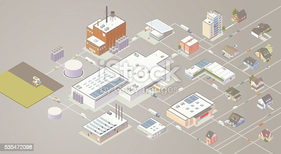 Supply chain illustration