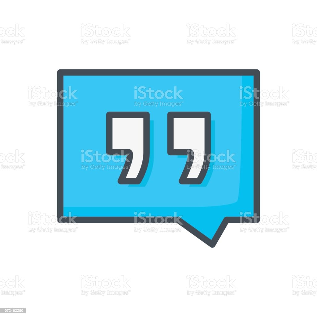 Support Contacts Work Service Colored Icon Comment vector art illustration