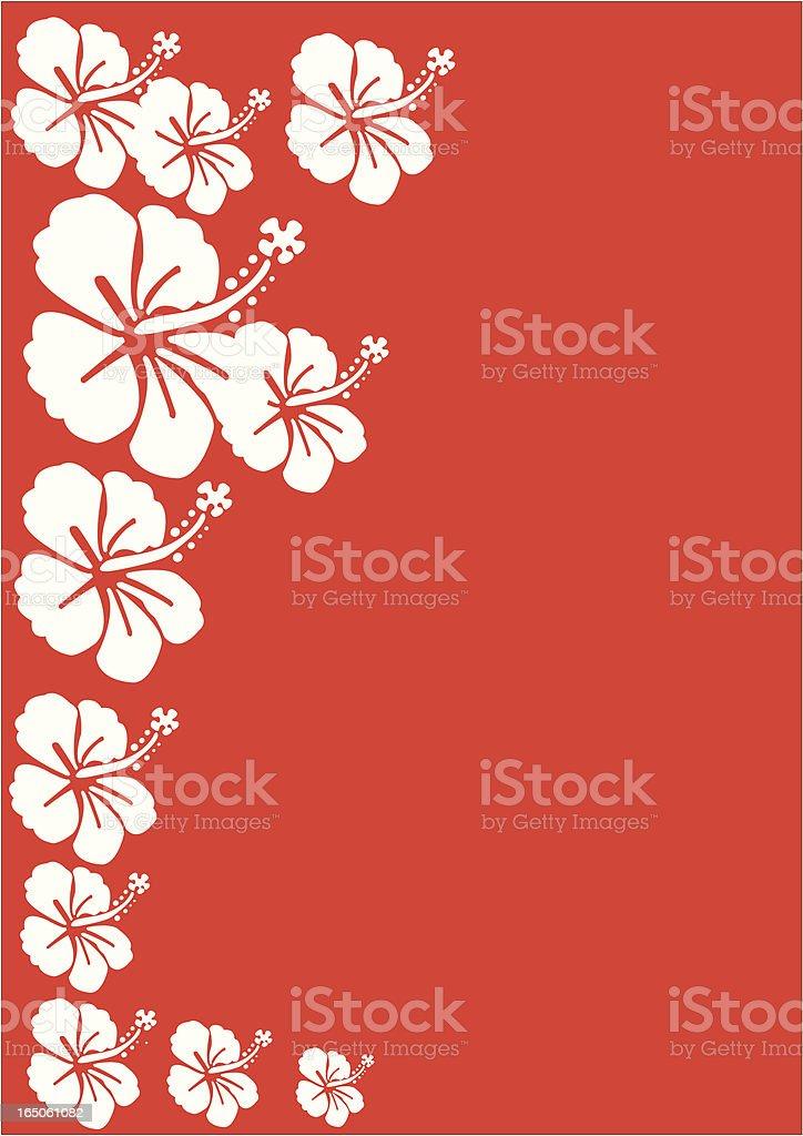 Surf Flowers royalty-free stock vector art