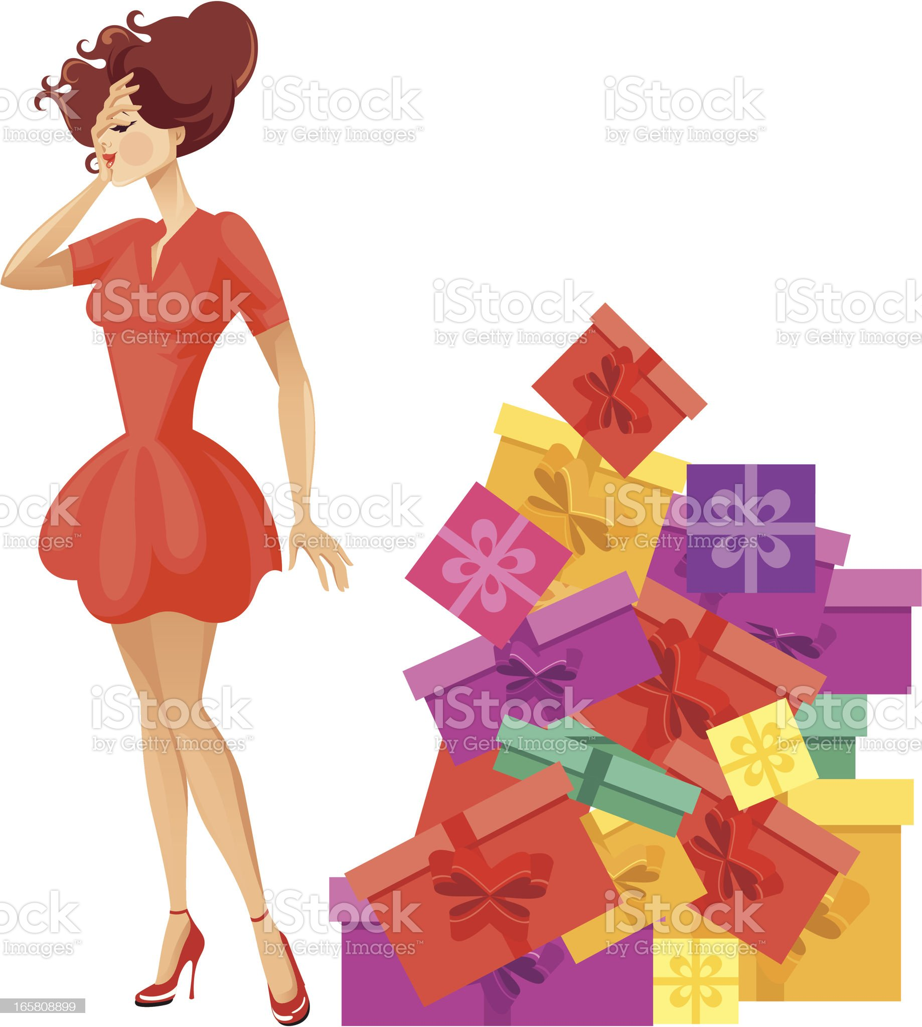 Surprise. royalty-free stock vector art