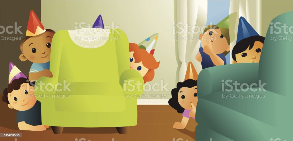 Surprise (Shhh!) royalty-free stock vector art