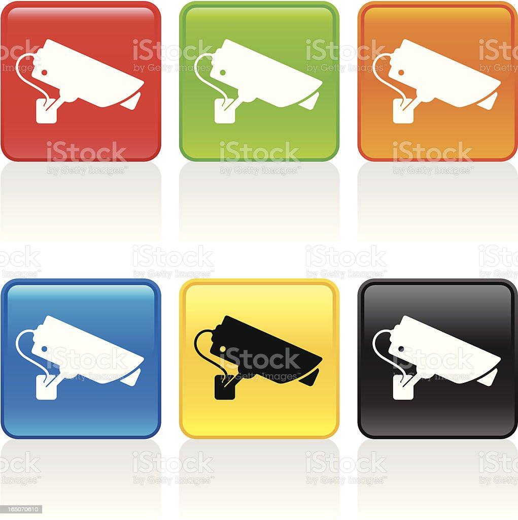 Surveillance Icon royalty-free stock vector art