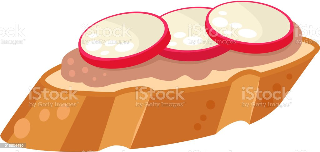 Sushi food vector isolated vector art illustration