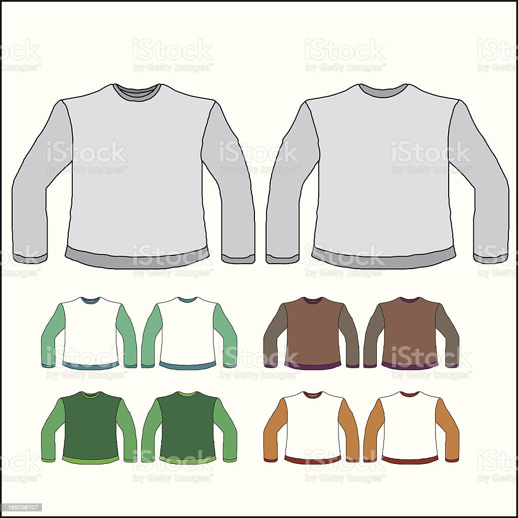 Sweater royalty-free stock vector art