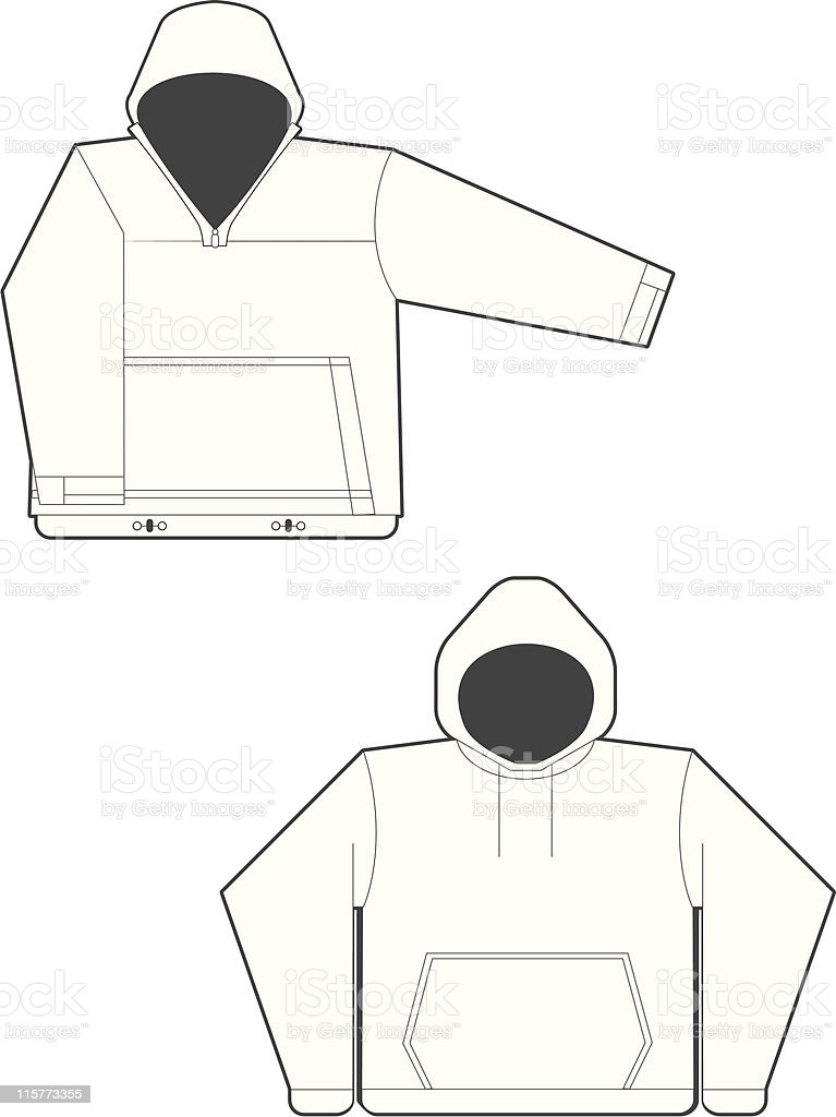 Sweatshirts royalty-free stock vector art