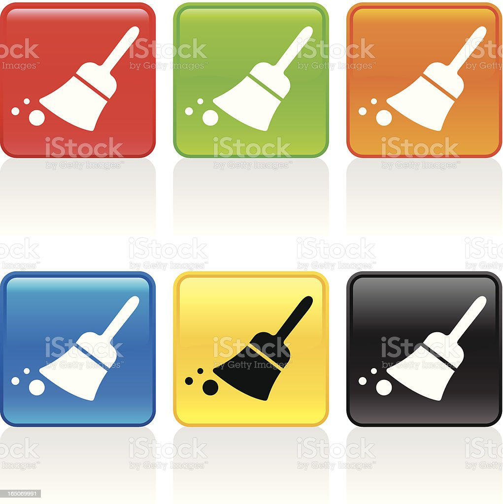 Sweep Icon royalty-free stock vector art