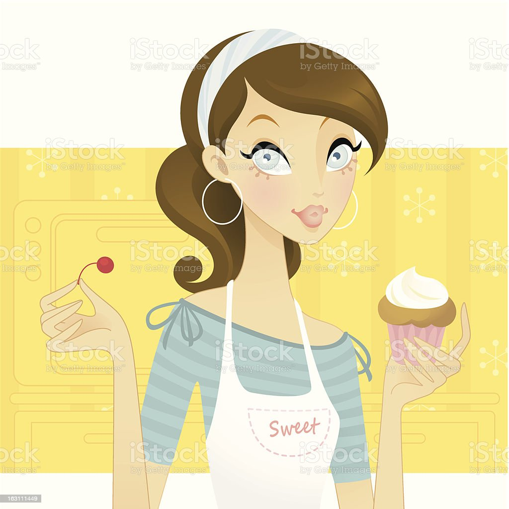 Sweet Chic royalty-free stock vector art
