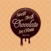 Sweet Chocolate Ice Cream