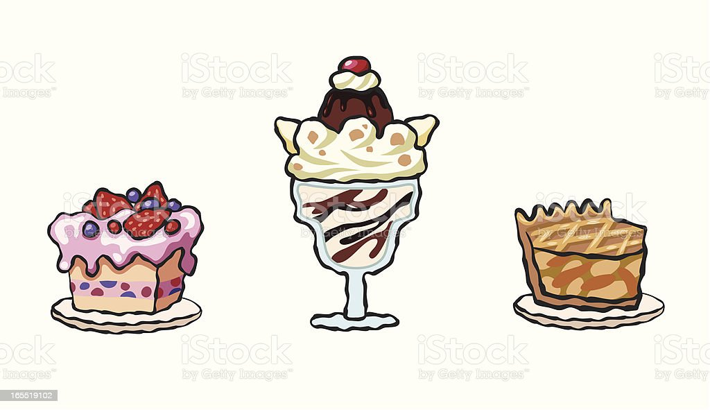 sweet food icon royalty-free stock vector art