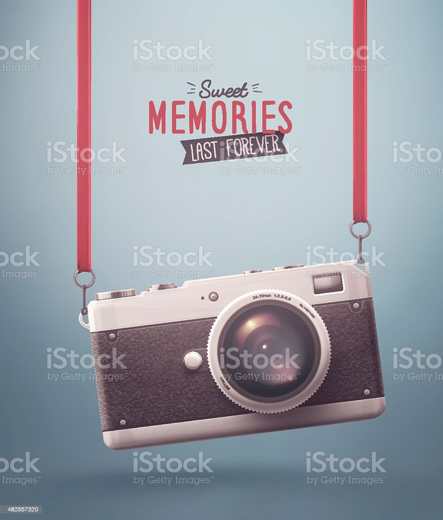 Sweet Memories vector art illustration