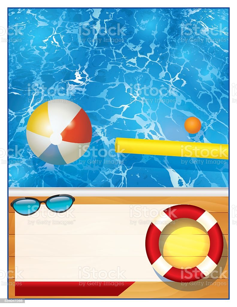 Swimming Pool Background swimming pool background template stock vector art 534047266 | istock