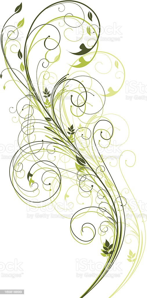 Swirl Design royalty-free stock vector art
