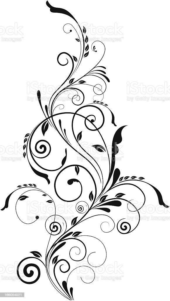 Swirl Design royalty-free stock vector art