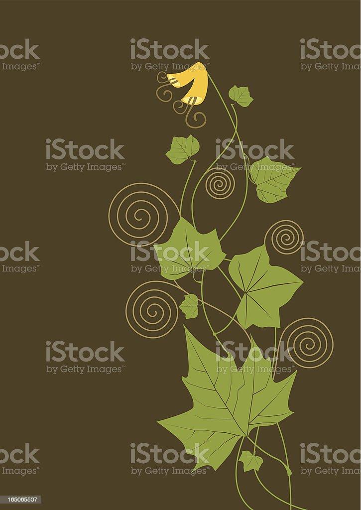 Swirl spring royalty-free stock vector art