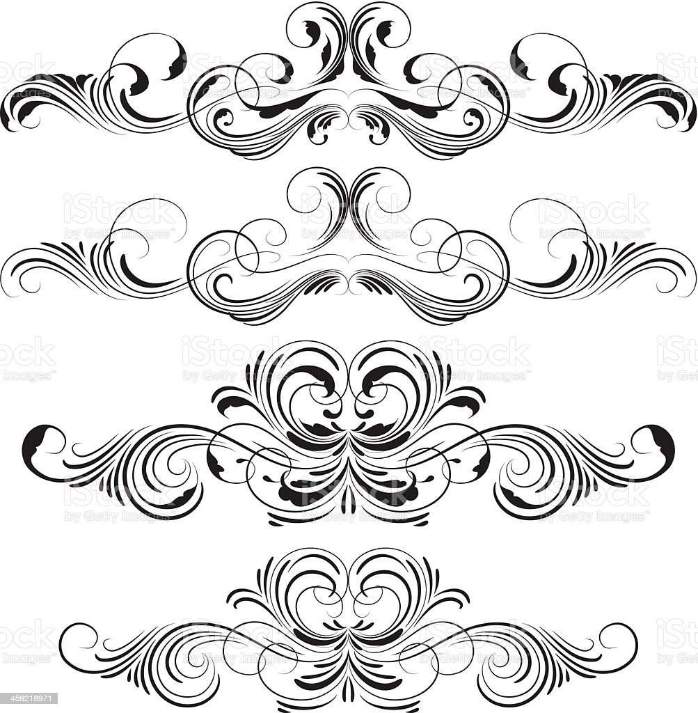 Swirl royalty-free stock vector art