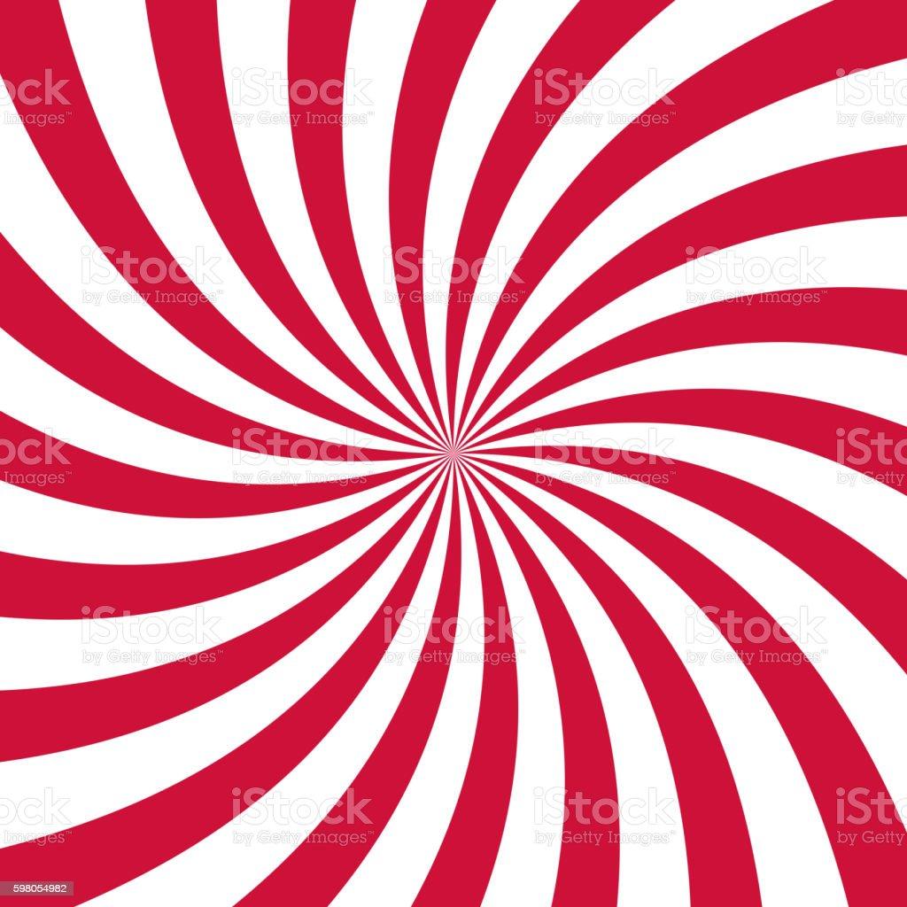 Swirling radial pattern background. Vector illustration vector art illustration