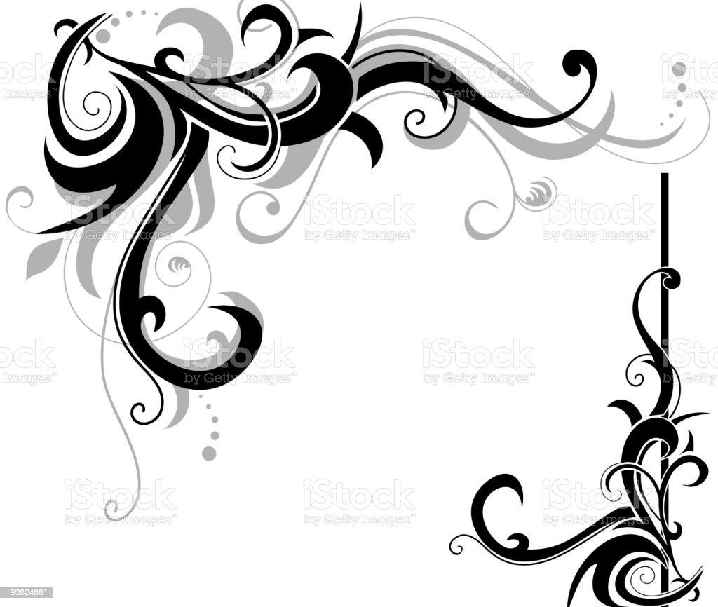 Swirls royalty-free stock vector art