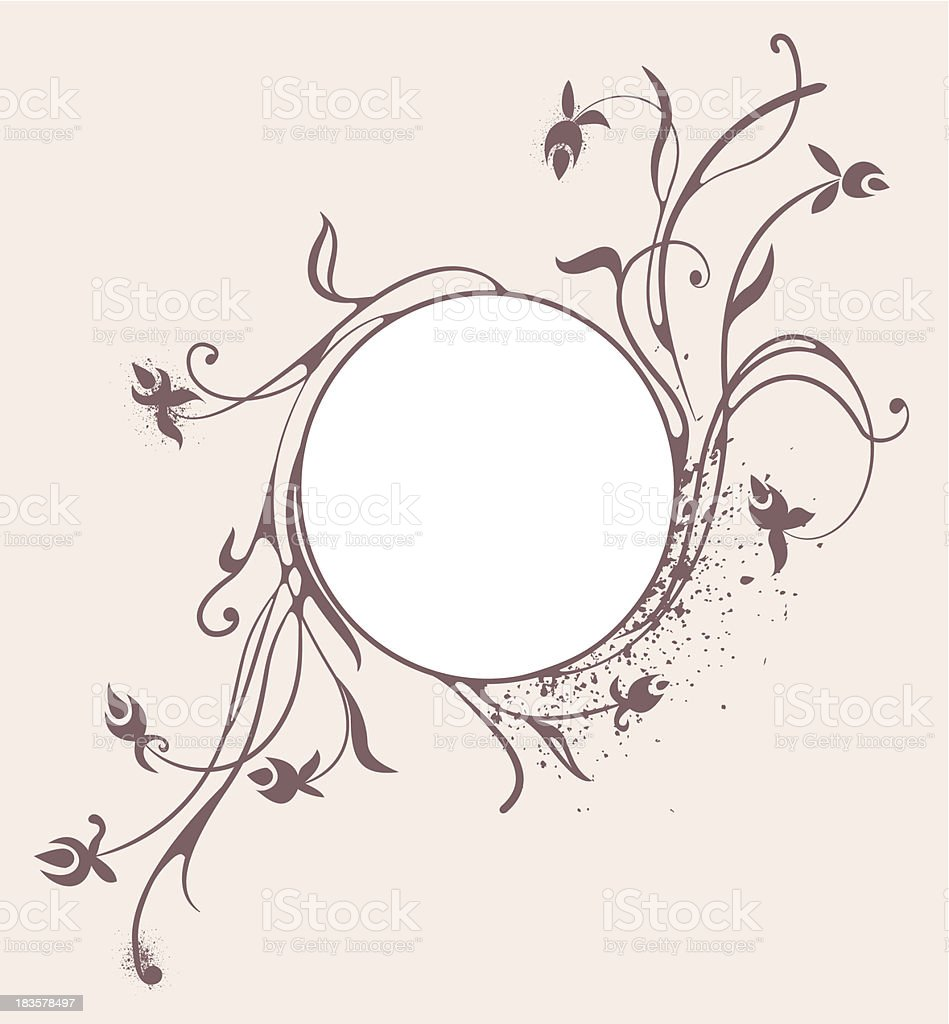 swirly background royalty-free stock vector art