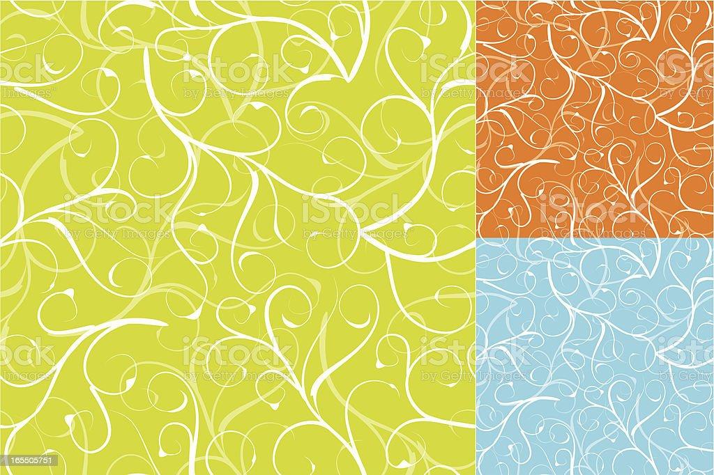 Swirly pattern . royalty-free stock vector art