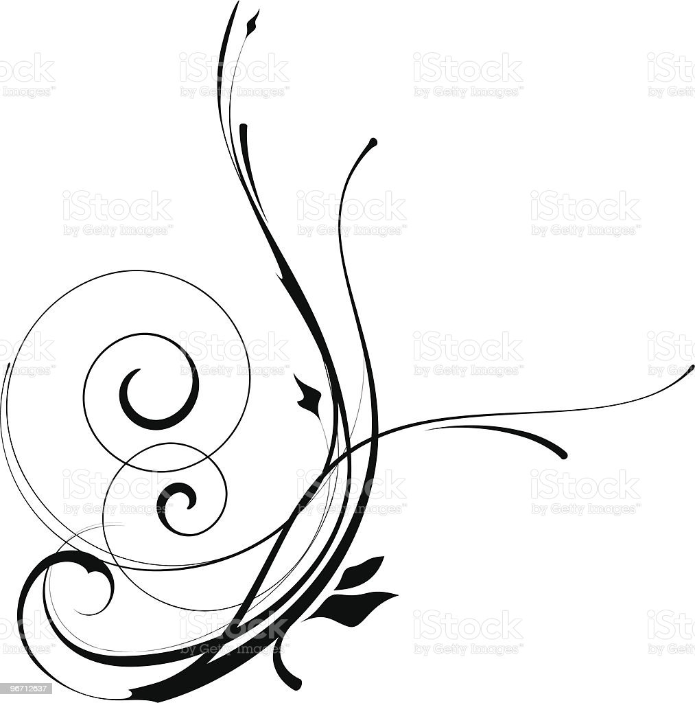 Swirly Pattern royalty-free stock vector art