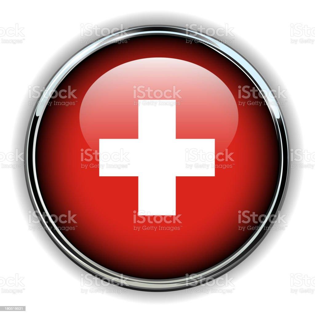 Swiss button royalty-free stock vector art