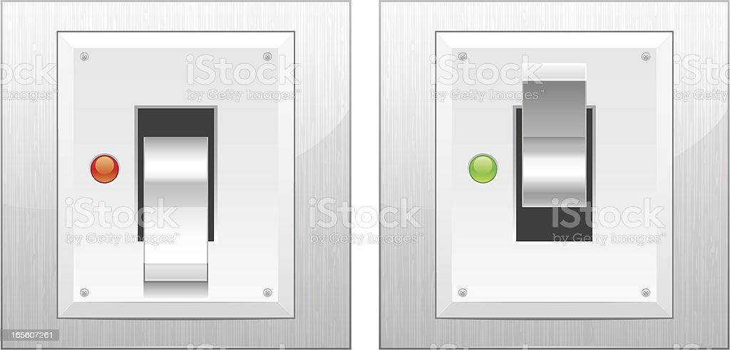 Switch royalty-free stock vector art