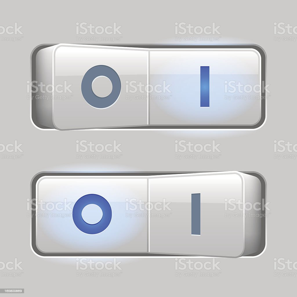 Switches light (OI) royalty-free stock vector art
