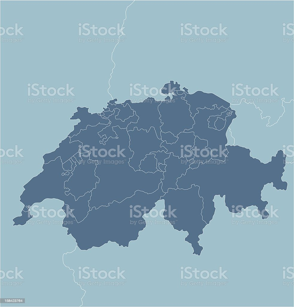 Switzerland royalty-free stock vector art