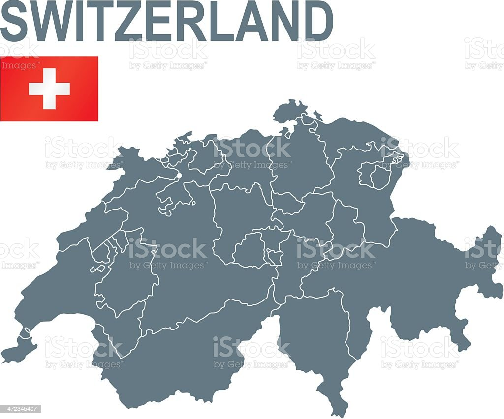 Switzerland royalty-free stock vector art
