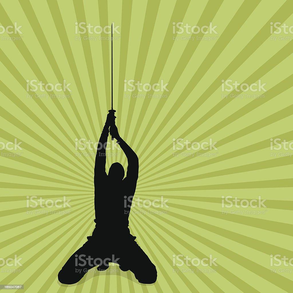 Sword of Victory vector art illustration