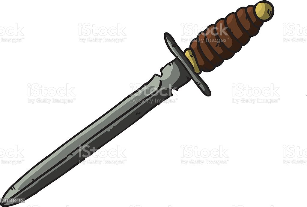 Sword vector art illustration