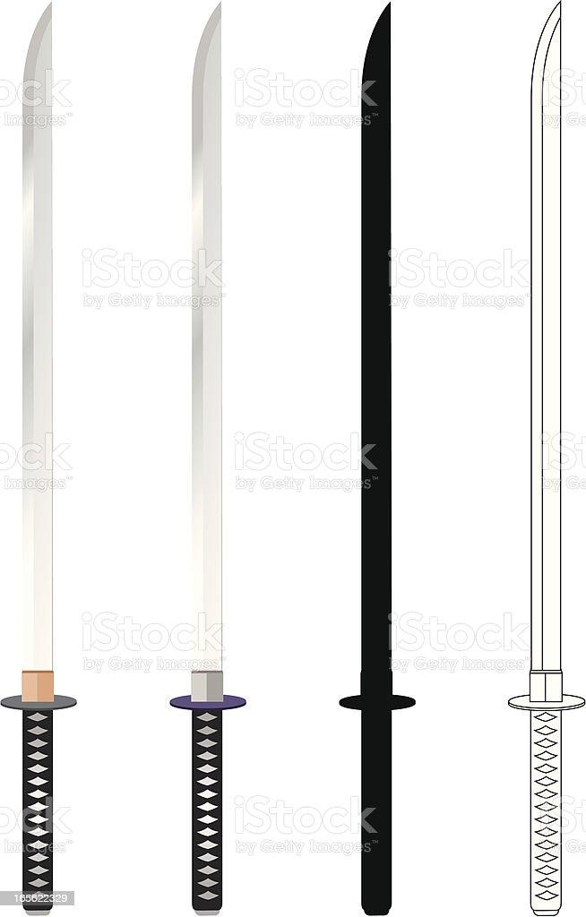 Swords royalty-free stock vector art