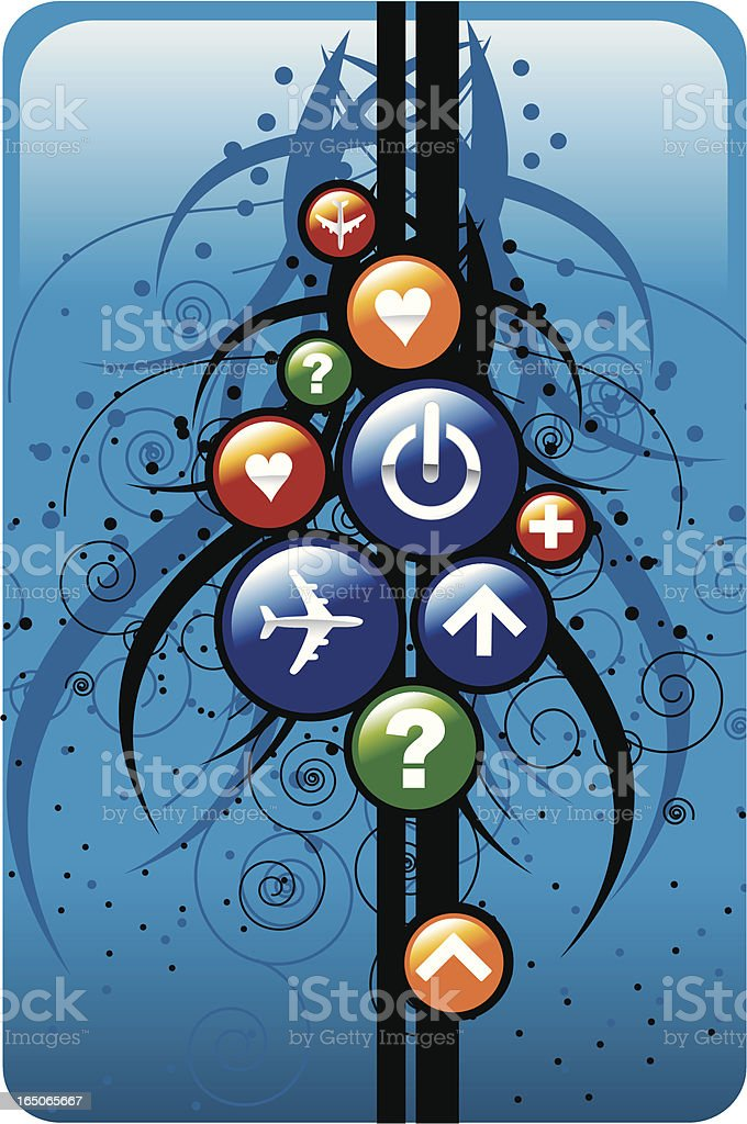 Symbol design royalty-free stock vector art