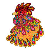 Symbol of the year 2017 - Rooster