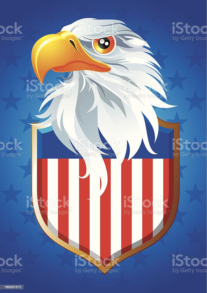Symbol of USA royalty-free stock vector art