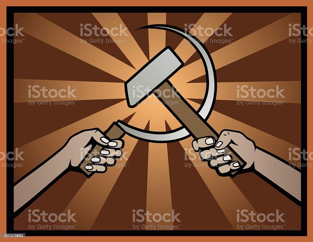 USSR symbol vector art illustration