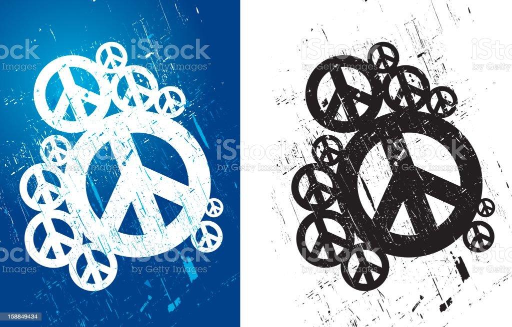 Symbols of peace royalty-free stock vector art